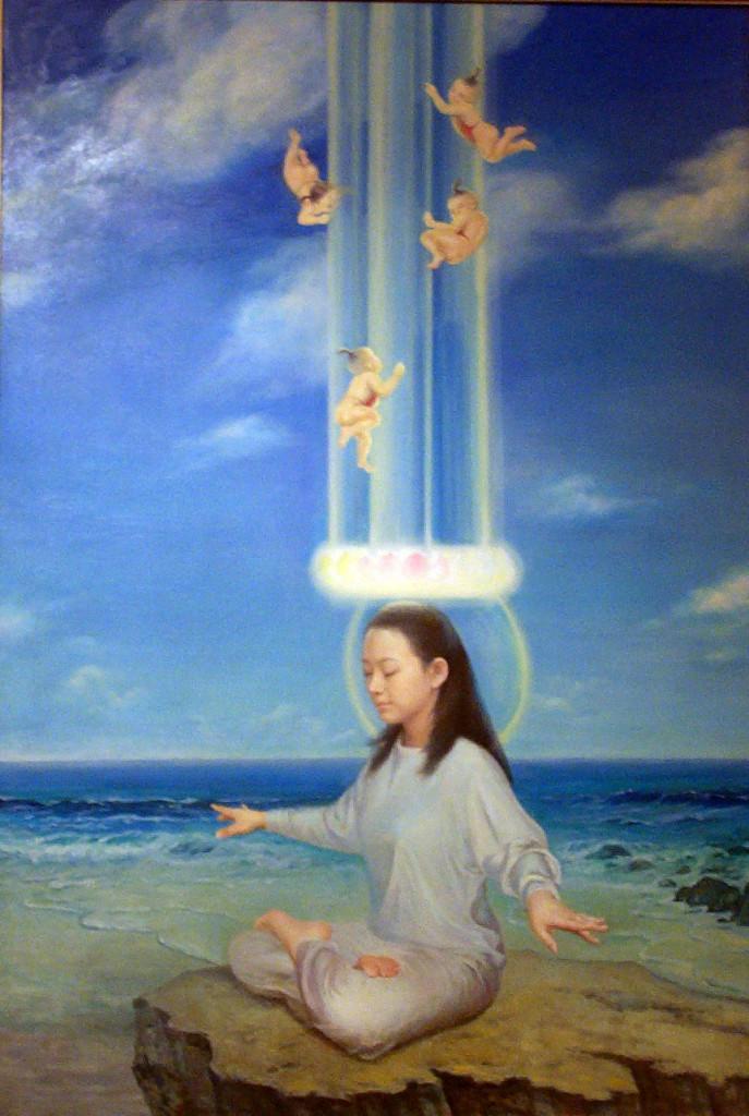 выставка, живопись, Фалуньгун, Фалунь Дафа