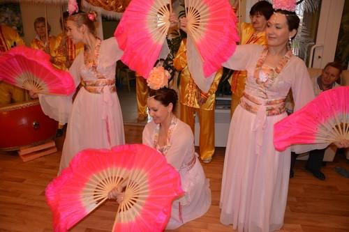 Фалуньгун, Фалунь Дафа, Россия Всеволжск, пансионат, танцы