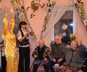 Фалуньгун, Фалунь Дафа, Россия Всеволжск, пансионат