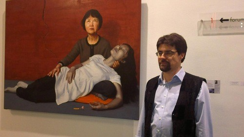 художник, живопись, картина, Фалуньгун
