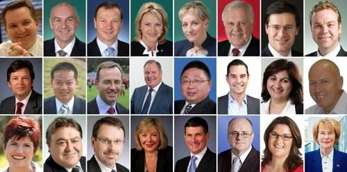 VIP персоны Австралии желают успеха Shen Yun