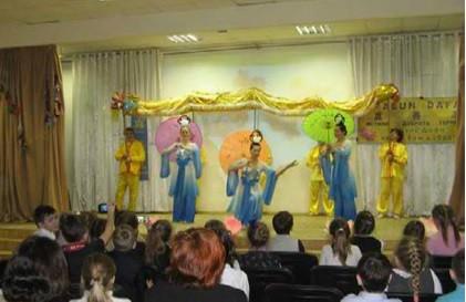 новый год, школа, Россия