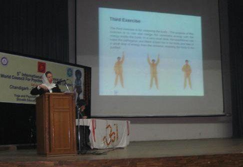 конференция, доклад, Фалуньгун