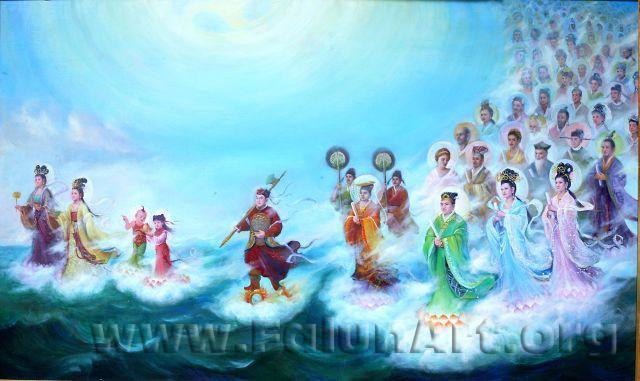 Удивительная живопись о духовном росте человека