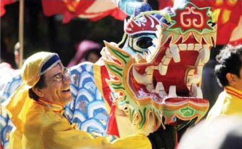 Фалуньгун, парад, культура