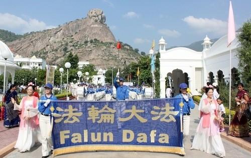Фалуньгун, Фалунь Дафа, Китай, оркестр, Индия, музыка