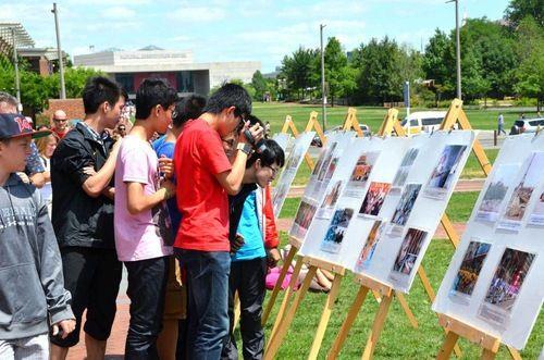 туристы, Китай, Европа, компартия, Фалуньгун, Фалунь Дафа