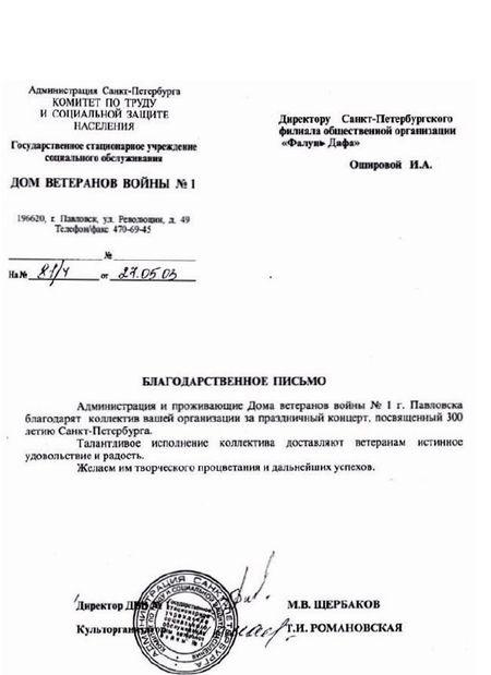 Фалуньгун, Фалунь Дафа, награды, Санкт-Петербург, Россия