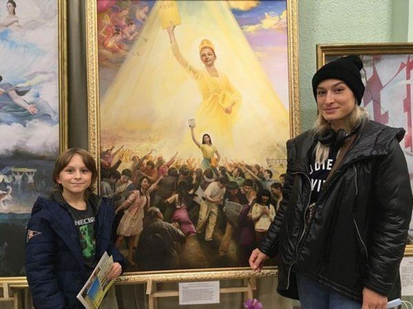 Одесса, выставка картин,