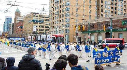 парад в Канаде,