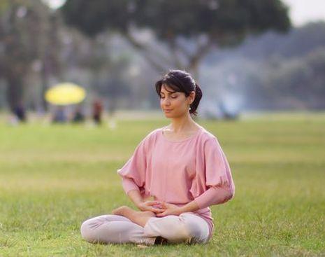 Фалуньгун, медитация,